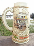 Strohs Beer Stein Mug1985 Collectors Series Mint 124387