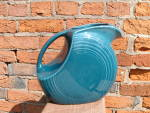 Feista Ware Pitcher Turquoise