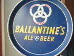 Ballentine Beer Tray Metal Ale Beer Great Color Graphics