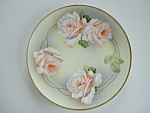 Royal Munich Cabinet Plate Bavaria Roses