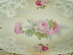 Relish Dish Lusterware Shabby Rose Made In Germany Near Mint