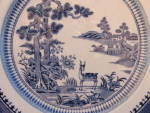 Lowestaft Deer Dinner Plate Silicon Booths England 9.5