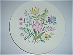 Knowles Plate Scandia China Plate Bright Florals Mint