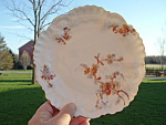 Limoges A Lanternier Daisy Plate 1880 Antique Marked