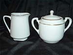Noritake Sugar Bowl W Imperial Japan Creamer Mint Marriage