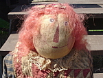 Primitive Raggedy Ann Andy Handmade Dolls Large Mint