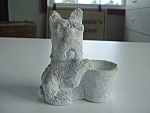 Scottish Terrier Dogtoothpick Holder Scottie Scotty Old