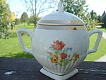Art Deco Sugar Creamer Gravy Shaker Royal Bouquet