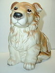 Golden Retriever Dog Figural Planter Norleans Japan Mint