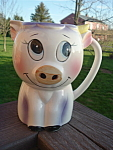 Pig Creamer Milk Pitcher Whimiscial Vintage Mint