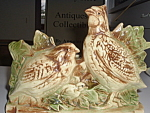 Mccoy Antique Quail Planter Original Signed Mint