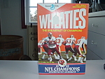 Wheaties Cereal Box 1988 Nfl Redskins Team Photo Mint