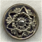Victorian 3 Piece Metal Button