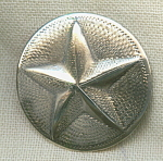 Wolfe Vintage Star Sterling Silver Button