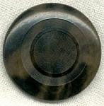 Vintage Variegated Vegetable Ivory Button