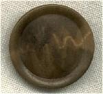 Vintage Vegetable Ivory Button.