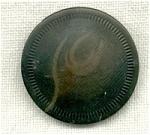 Dark Green Vegetable Ivory Button