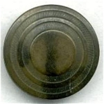Pyramid Domed Vegetable Ivory Button