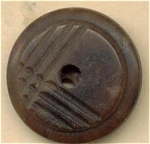 Whistle Style Vegetable Ivory Button,