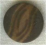 Brown Vegetable Ivory Button