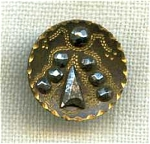 Victorian Metal Button Riveted Cut Steels