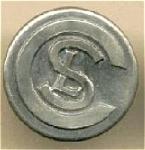 """Csl Chicago Surface Lines Button. 5/8"""""""