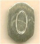 Antique Single Cuff Button