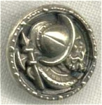 Balboa Spanish Explorer Metal Button.