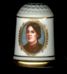 Anna Harrison Thimble First Lady Franklin Mint
