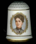 Frances Cleveland Thimble First Lady Ladies