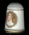 Harriet Lane First Lady Thimble Franklin Mint