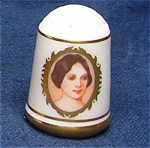 #2 Betty Bliss Thimble First Lady Franklin Mint