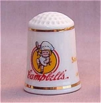 Campbell's Soup Country Store Thimble Franklin