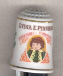 Lydia Pinkham Country Store Thimble Franklin