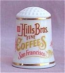 Hills Bros. Coffee Country Store Thimble Franklin