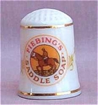 Fiebing Soap Country Store Thimble Franklin Mint