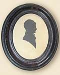 Antique Regency Period Silhouette