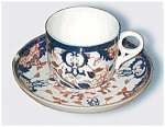 Antique Derby Crown Porcelain Imari Cup And Saucer