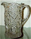 Imperial Glass Co. Pressed Glass Pitcher Ca. 1911