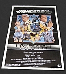 Vintage Original One Sheet Movie Poster - Avalanche Express