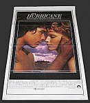 Vintage Original One Sheet Movie Poster - Hurricane
