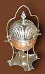 Antique Victorian English Silver Plate Egg Coddler