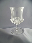 Vintage 2 Piece Mold Pressed Glass