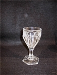 Vintage Pressed Glass Cordial