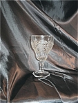 Vintage Pressed Glass Cordial Or Wine Glass
