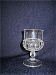 Early Kings Crown Wine Glass 1880