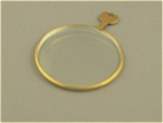 Single Vintage Optical Eye Glass Lens