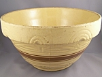 Vintage Yellowware Bowl 10 Inch