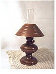 Vintage Minature Copper Oil Lamp