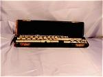 Vintage Italian Flute In Case